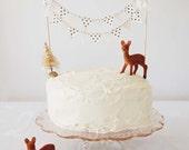 ORIGINAL Cake Bunting FAWN