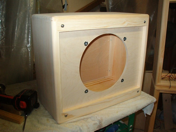 diy guitar cabinet items similar to 112 tweed style 1 x 12 guitar speaker 14898