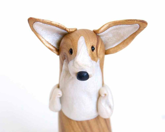 The Wonderful Welsh Corgi Figurine by Bonjour Poupette