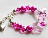 Pink Sparkle Baby Bracelet