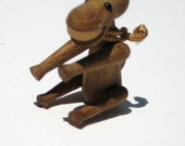 Zoo Line Donkey (Mini) - Mid-century Wooden Animal Toy