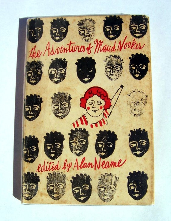 ANDY WARHOL Art Cover - Adventures of Maud Noakes - Alan Neame