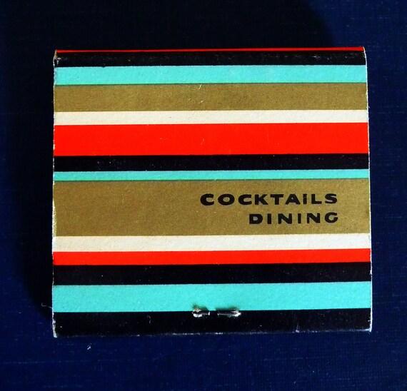 Vintage Cocktail Matchbook - Geronimo Restaurant