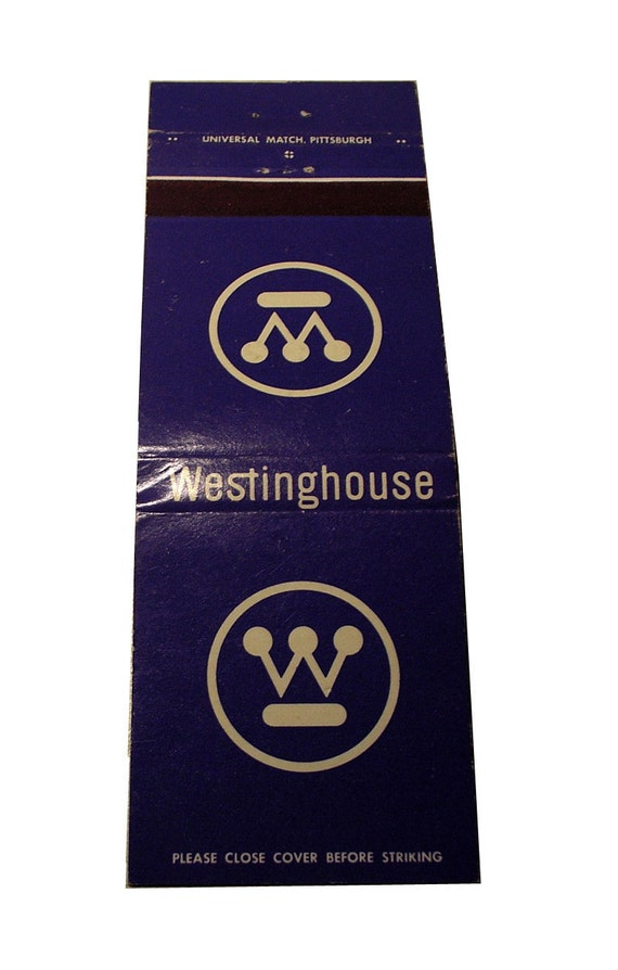 PAUL RAND Logo Design - Westinghouse Matchbook Cover