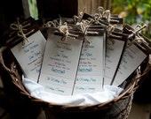 The Nicole Layered Wedding Programs