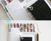 RESERVED for lane52403  // organization gift set - charcoal / stripes