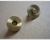 18mm Antique brass brushed Magnetic Snap Magnetic Closures 20set purse making accessories