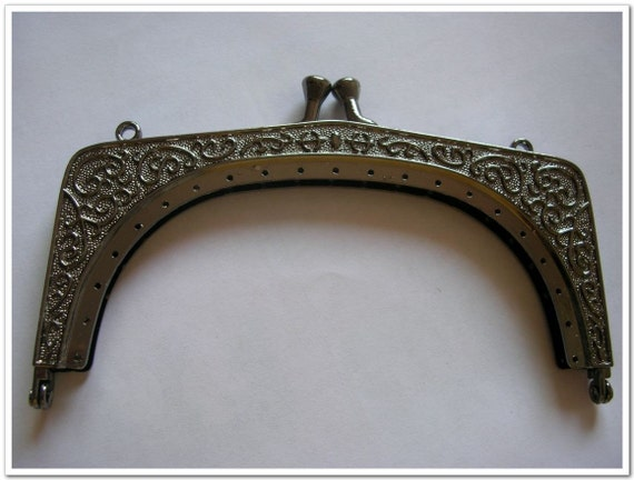 5.12 inch  alloy genmetal metal vintage purse frame