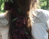 blossoms blooming...a gratefully inspired one of a kind headband