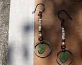 Nana Leaf Earrings