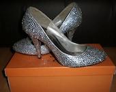 Rhinestone Shoes Crystal Shoes Wedding Formal