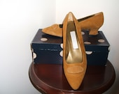 Vintage 1990 Perry Ellis Portfolio Shoe in Nutmeg