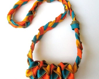 FIESTA MEXICANA - Zipper Necklace