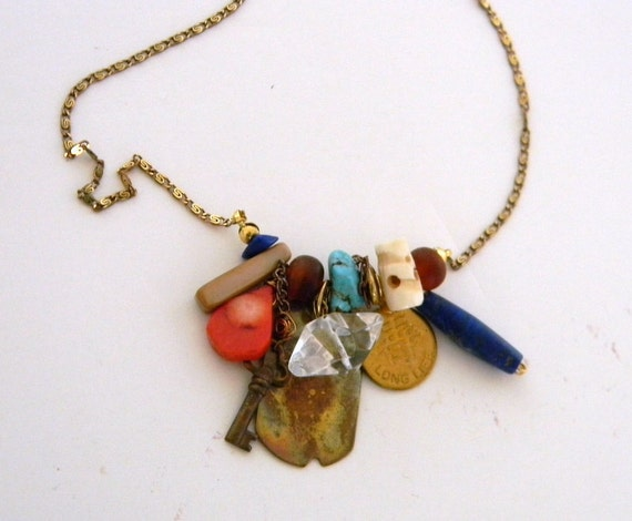 Treasury Eclectic birthday  amulet necklace