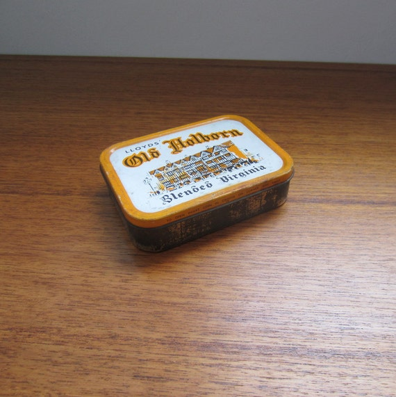 Vintage Lloyds Old Holborn Blended Virginia Tobacco Tin.