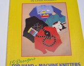 Knitting pattern book, easy picture knits, knitting machine, hand knitting, children, craft