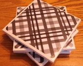Black and White  Coasters