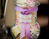 Candy Buffet Label