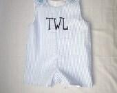 Monogrammed Infant Toddler Jon Jon