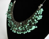 PETITE STRAIGHT PIN NECKLACE-MINT