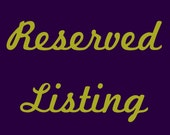 Reserved for Rebeccka