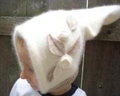 Lil Forest Gnome Winter Angora Hat 2T-4T Kidsgogreen