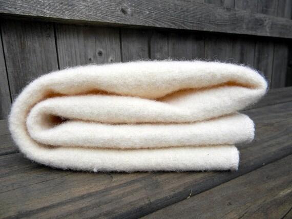 Organic Pure Wool Puddle Pad Wool Crib Pad Mattress Pad Wool Pad In Off White