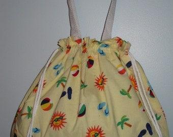 Summer Sunshine Tote Bag (Yellow/Multi)