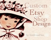 Custom Etsy Shop Design