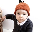 Orange Hat  for 6 to 12 Months  and 12 to 24 Months Babies