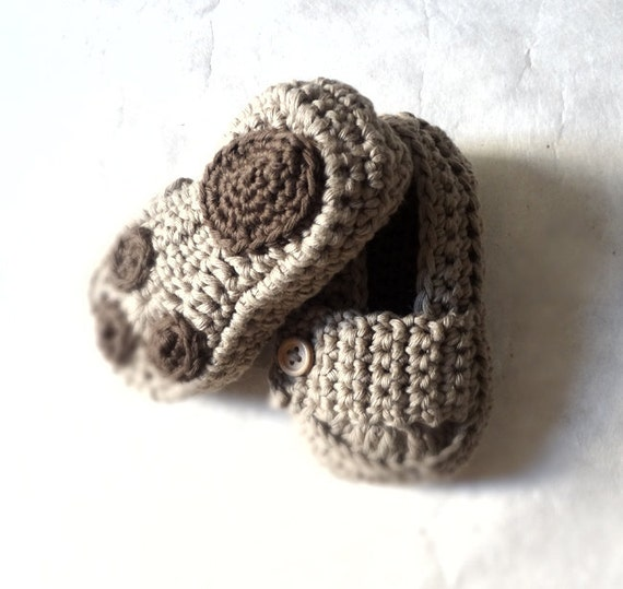 Only Newborn Available Bear Paw Baby Moccasins