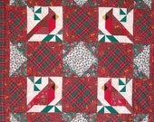 Cardinal Quilted Wallhanging