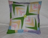 Easter Palm Leaf Pillow
