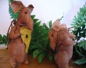 Primitive Mice Valentine's Day Courtship