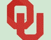 OU PES or HUS embroidery file to fit 4x4 and 5x7 frame