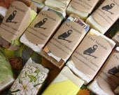 Soap Favors- wrapped in vintage childrens book pages-quantity of 24-baby shower favor, wedding favor, birthday party favor