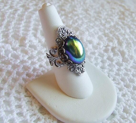 ENCHANTRESS Oracle Vintage Filigree Ring