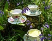 Bluebell Eco Irish Handmade Soy Aromatherapy Teacup Candle