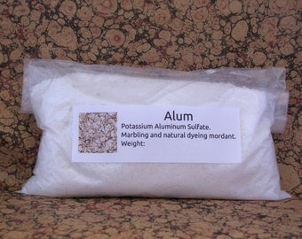 Alum 450g 16oz 1lb Marbling Dyeing Mordant Marbled Paper Fabric Supplies