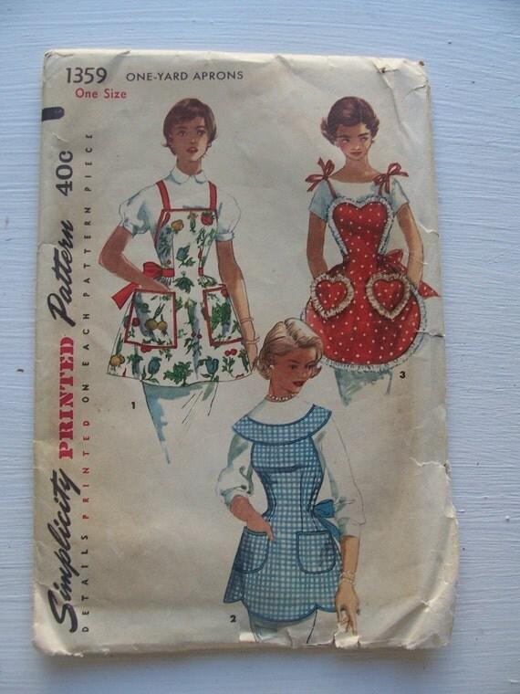 Vintage Rockabilly Pinup Apron Pattern BeBop Valentines
