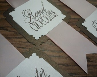 Candy Buffet Tags
