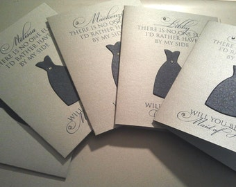 Faithful- Will You Be My Bridesmaid Cards