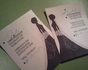 Humble- Will You Be My Bridesmaid... Cards