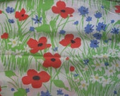 2 Vintage King Size Pillowcases, Extra Long, Floral Print like Vera