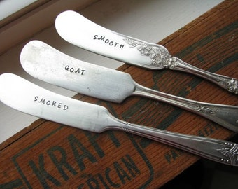 Vintage Silver Plate Stamped Cheese Knife
