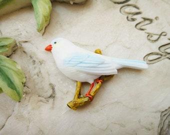 2Pcs Handpainted Colorful Birds D