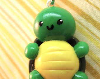 Terrance the Terapin - Turtle Cell Phone Charm