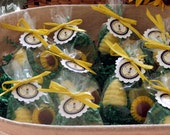 Set of 15 Bee Hive Soap Favors Baby Shower Birthday Custom Party Favors Includes Customized Tags