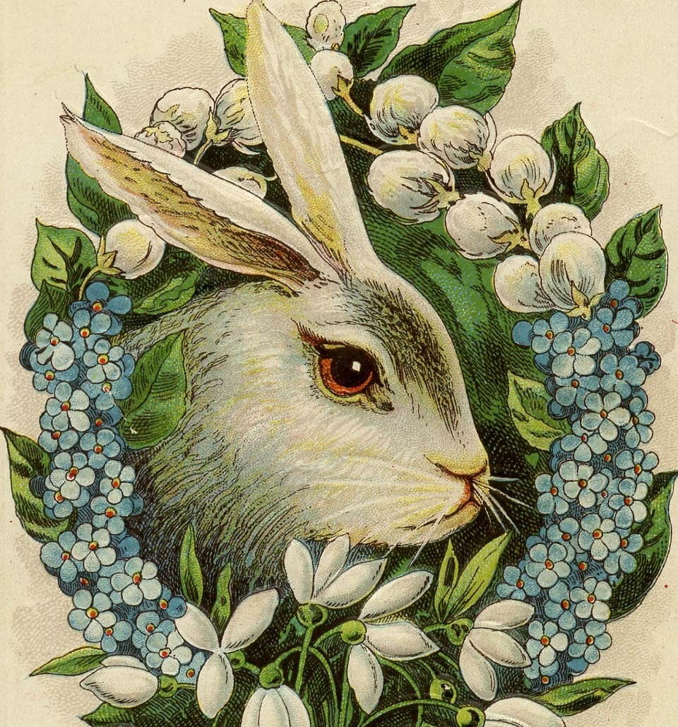 vintage easter bunny - photo #7