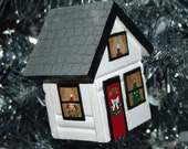 House-shaped Christmas Ornament